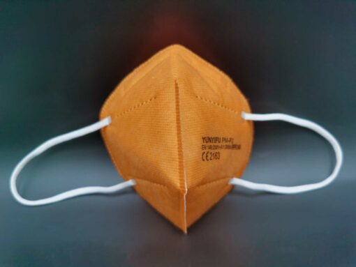 FFP2, Maske, ffp2 maske, orange
